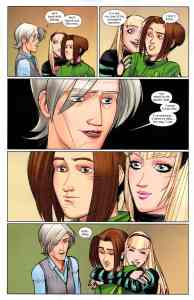 Aunt May, Gwen Stacy, Peter Parker, Ultimate Comics Spider-Man, Vol. 1