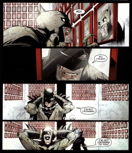 Batman #5 (2012), The Court of Owls, maze, eye