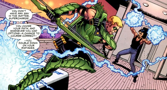Green Arrow #1, 2011