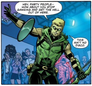 Green Arrow, Dan Jurgens, The Midas touch