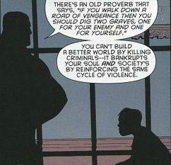Batman, killing philosophy, Patrick Gleason