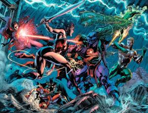 Justice League: The Villain's Journey, Jim Lee, Martian Manhunter