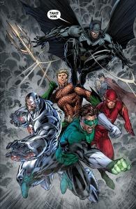 Justice League: The Villain's Journey, Jim Lee