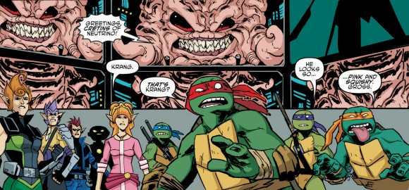 Ben Bates, Ninja Turtles #18