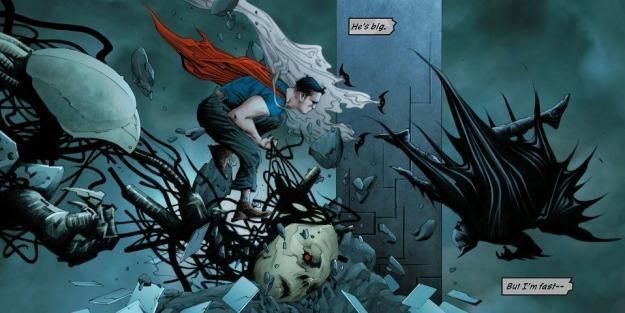 Batman/Superman #1, robots