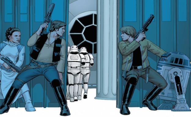 Star Wars #1, John Cassaday