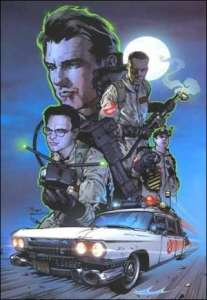 Ghostbusters: Displaced Aggression, cover