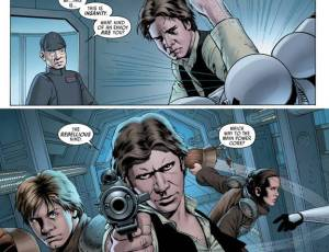 Star Wars #1, John Cassaday, Han Solo