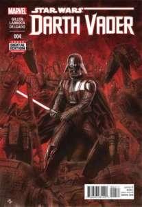 Darth Vader #4, cover