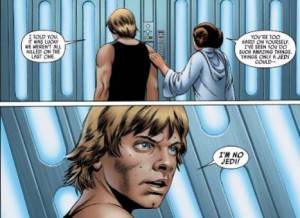 Star Wars #4, Luke Skywalker, John Cassaday