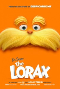 The Lorax, poster