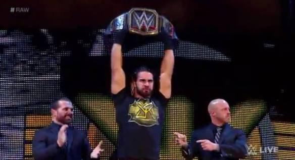 Seth Rollins, WWE Raw, 04202015