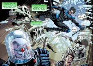 Convergence: Nightwing/Oracle #1, NIghtwing, Mr. Freeze