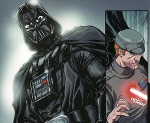 Darth Vader, lightsaber kill, Carlos D'Anda