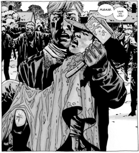 The Walking Dead #83, Rick, Carl
