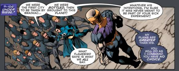 Convergence #3, Telos, Nightwing and Flamebird