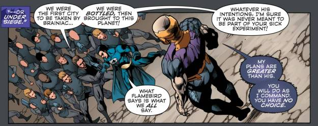 Convergence #3, Telos, Nightwing and Flamebird
