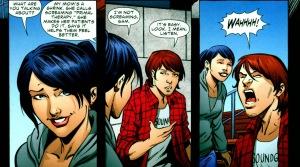 Green Arrow/Black Canary, flashback