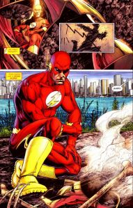 The Flash: Rebirth #2, Ethan Van Sciver, Barry Allen