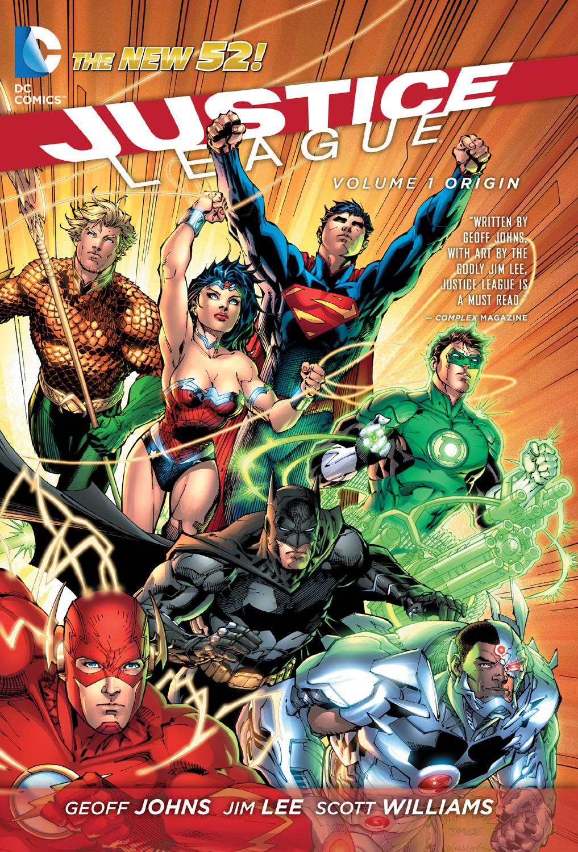 Justice League Origin Cover
