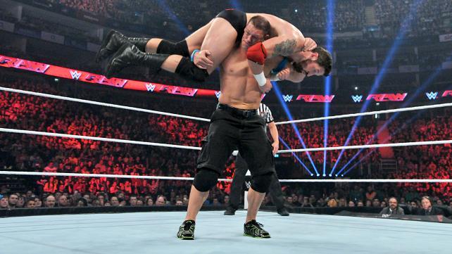 John Cena, Bad News Barrett, Raw, April 13, 2015