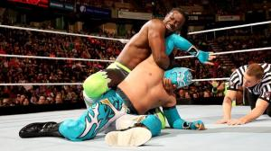 Kofi Kingston, Sin Cara, Raw, 04202015