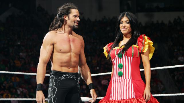 Raw, 04/27/2015, Adam Rose, Rosa Mendes