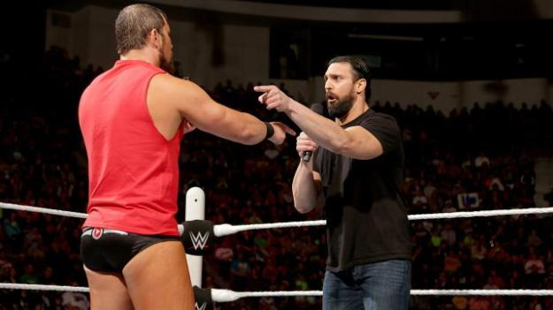 Damien Sandow, Curtis Axel, Raw, 04/27/15