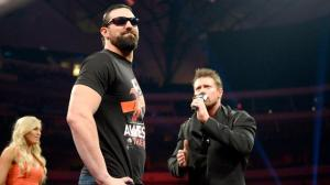 Damien Sandow, The Miz, Summer Rae, Smackdown, April 2015