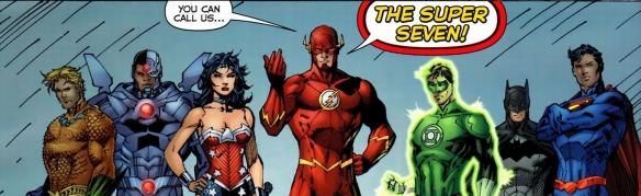 Justice League #6, Jim Lee, super seven