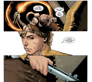 Star Wars #1, 2015, Luke Skywalker