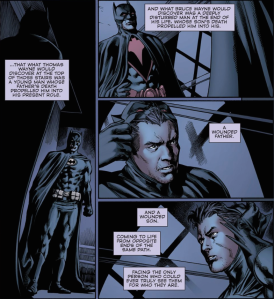 Convergence #2, Batman/Batman