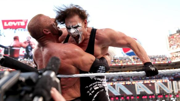 Triple H vs. Sting, Wrestlemania XXXI