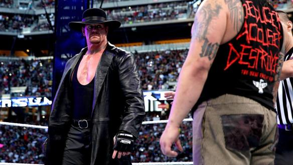 The Undertaker, Wrestlemania XXXI