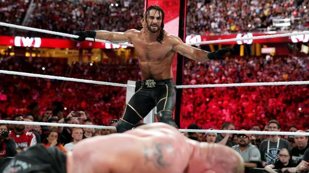 Seth Rollins, Brock Lesnar, Wrestlemania XXXI