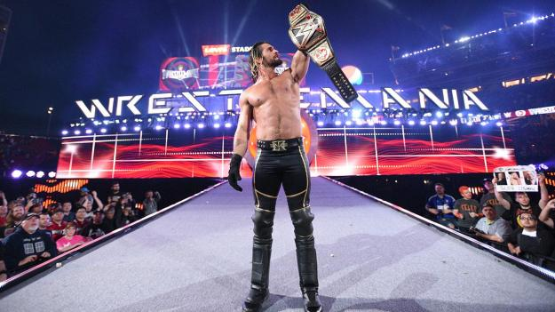 Wrestlemania XXXI, Seth Rollins, Champion