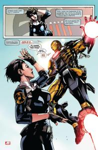 Indestructible Hulk #3, Maria Hill, Iron Man