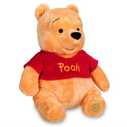 Winnie the Pooh plush doll