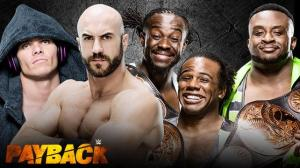 WWE Payback 2015, tag title match