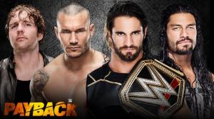 WWE Payback 2015, Fatal Fourway