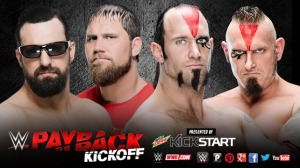 WWE Payback 2015, pre-show