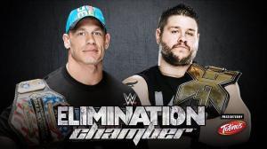 WWE Elimination Chamber 2015, John Cena, Kevin Owens