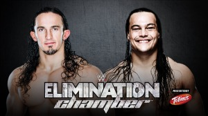 Neville, Bo Dallas, WWE Elimination Chamber 2015