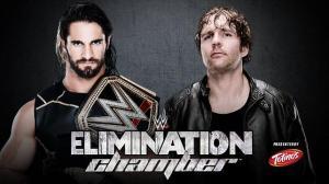 Seth Rollins vs Dean Ambrose, Elimination Chamber 2015