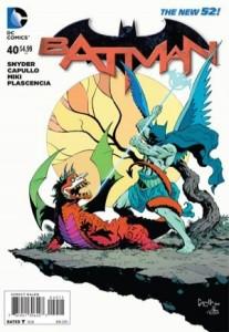 Batman #40, Greg Capullo