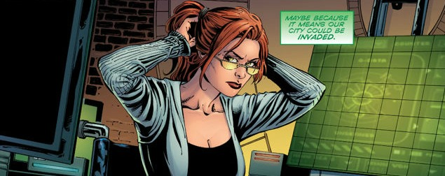 Convergence: Nightwing/Oracle #2, Barbara