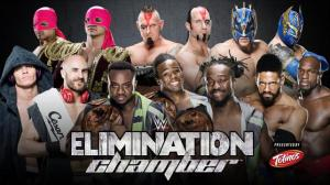 WWE Elimination Chamber 2015, Tag Title Match