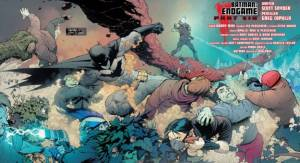 Batman #40, two-page spread