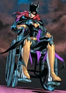 Batgirl, wheelchair