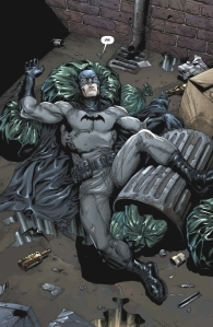 Batman Earth One, Gary Frank, Garbage
